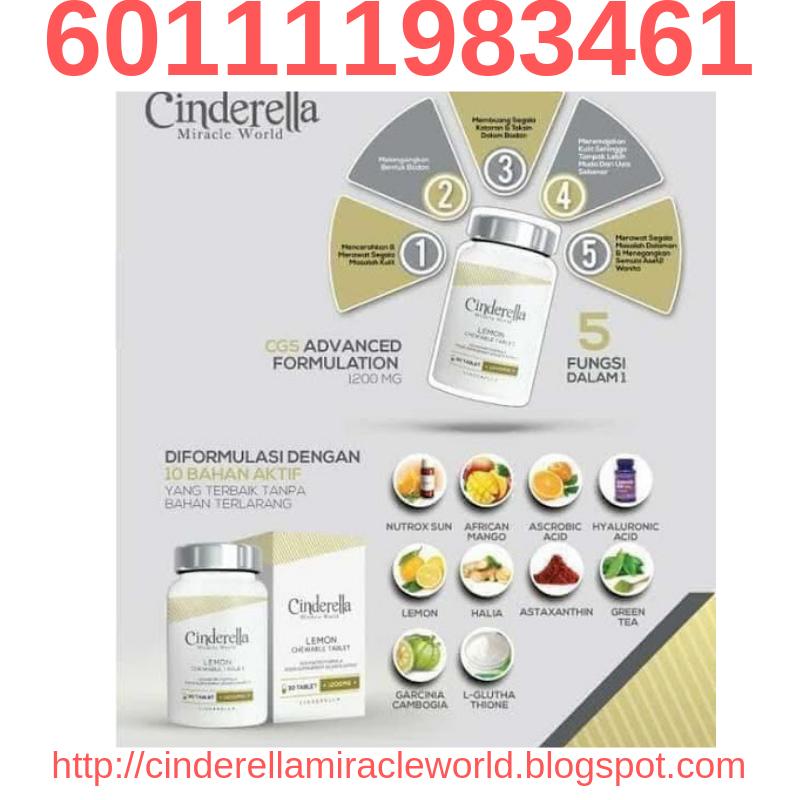 Gula gula kurus putih cinderella Glow Slim 601111983461