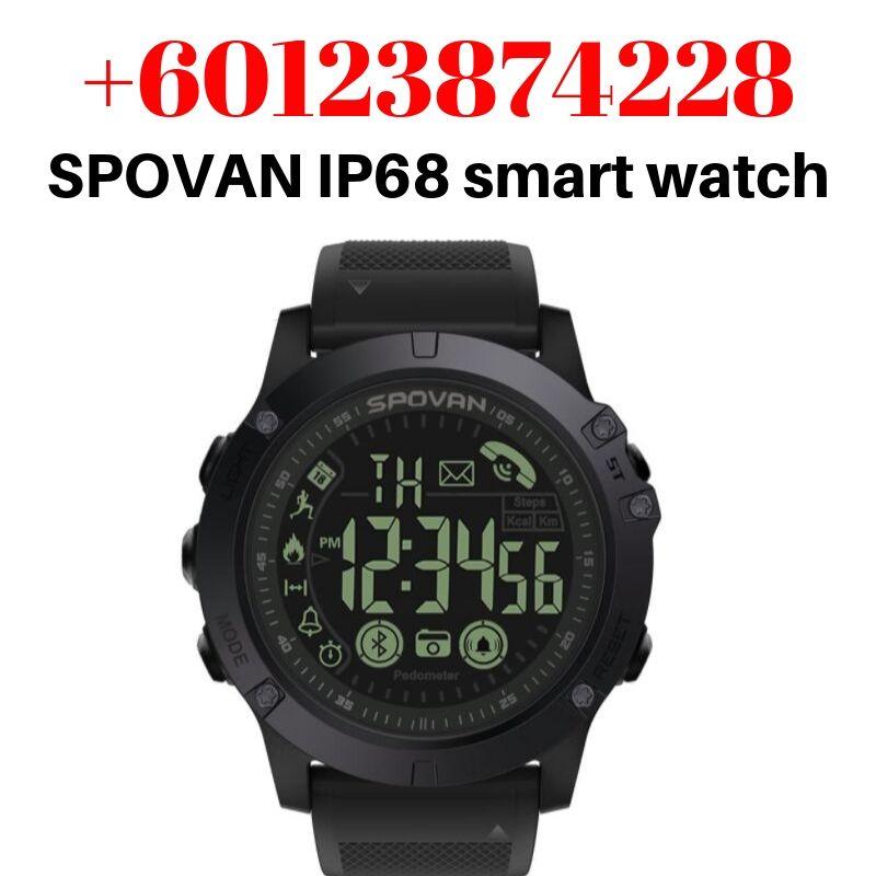 spovan pr1 smart watch manual review