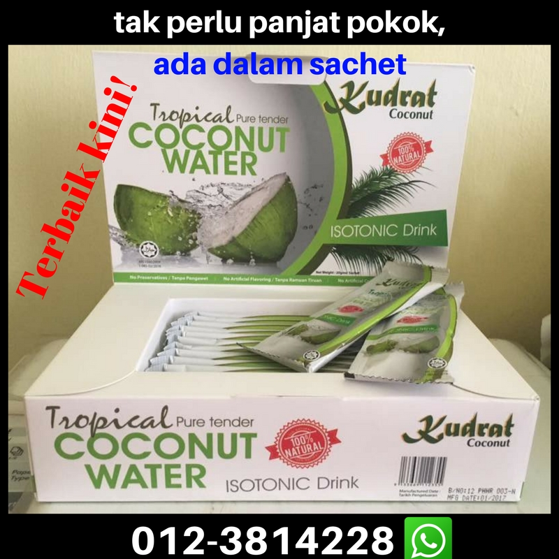 Kudrat Tropical Pure Tender Coconut Instant Drink