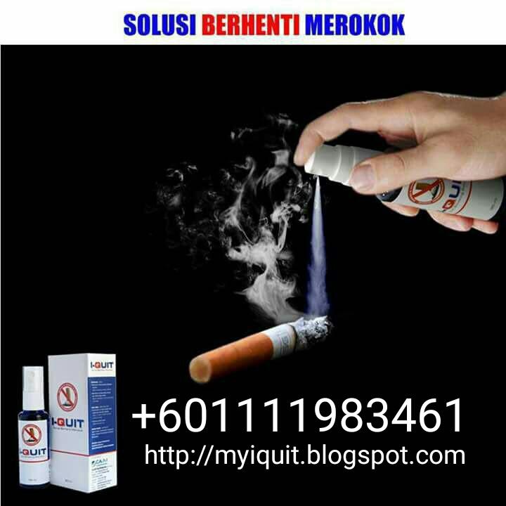 Cara berkesan berhenti merokok 2018 I-Quit +601111983461
