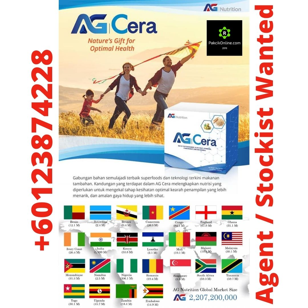 Agent and Stockist Wanted Worldwide | AG Cera | +60123874228