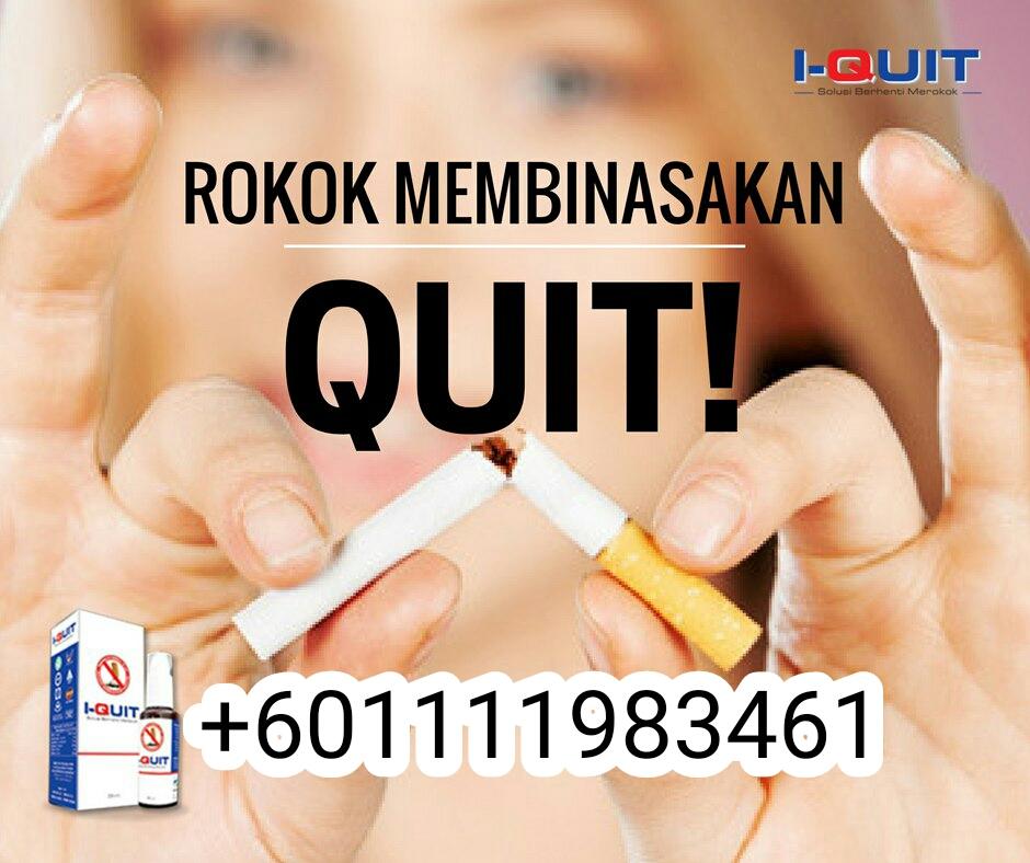 Kesan berhenti berhenti merokok 2018 I-Quit +601111983461