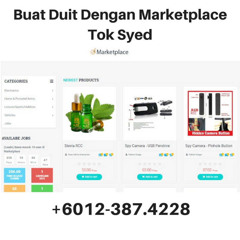 The Best Method to Make Money With Tok Syed Marketplace