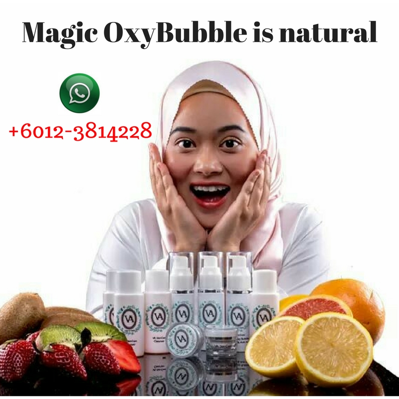 Magic Oxy Bubble Korean masked is all natural