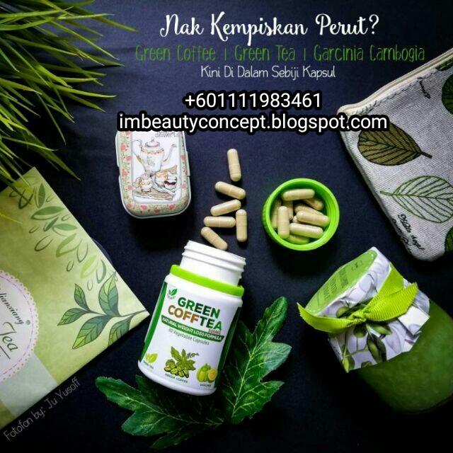 produk kurus berkesan green coffee tea +601111984361
