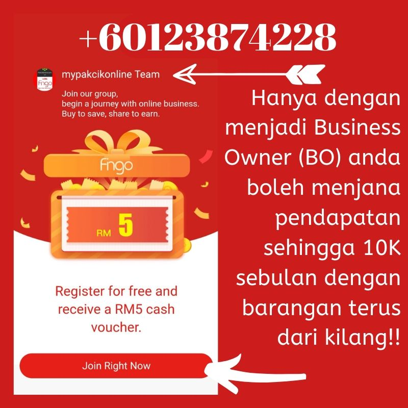 Fingo Apps dropship termurah