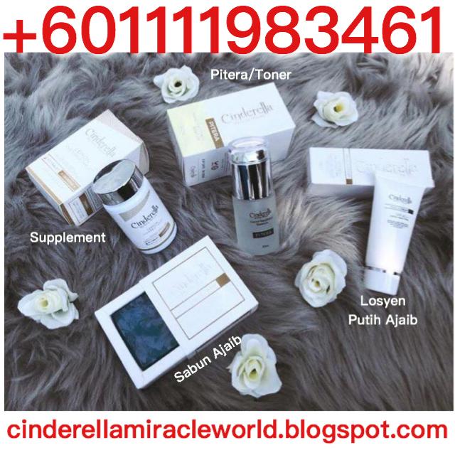 cara putihkan kulit muka dengan  cinderella +601111983461