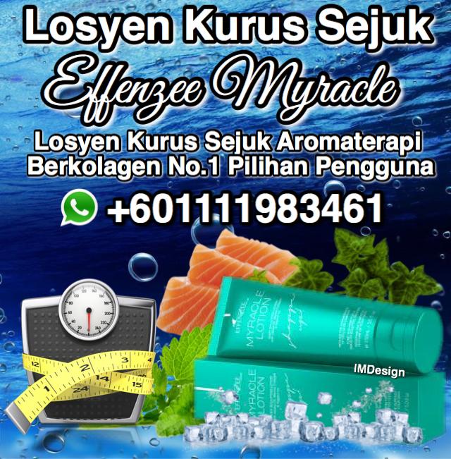LOSYEN BAKAR LEMAK CEPAT EFFENZEE MYRACLE +601111983461