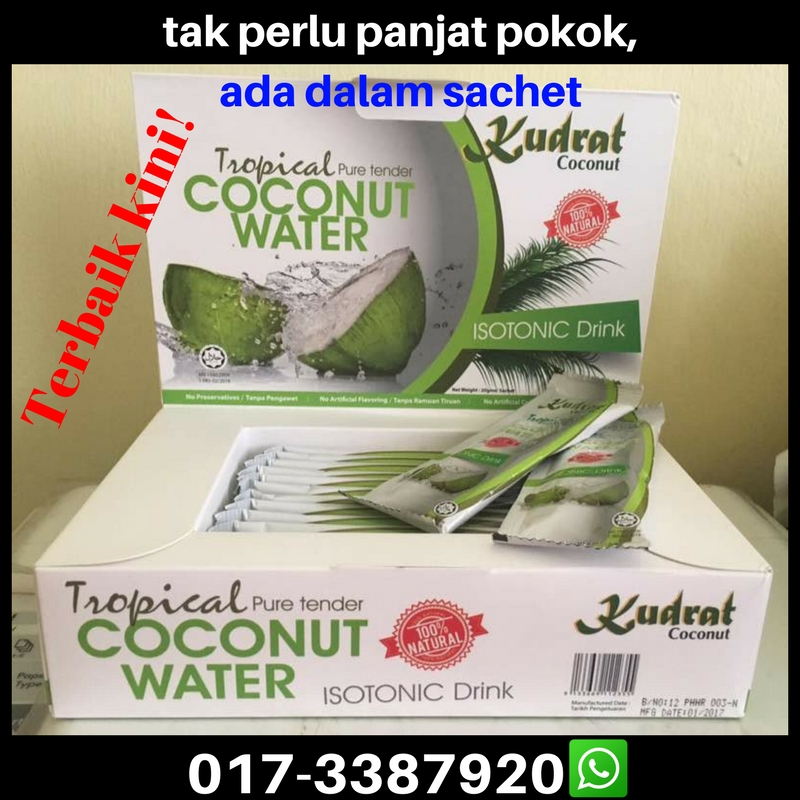tender coconut water concentrate powder