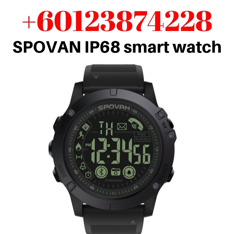 spovan pr1 watch manual