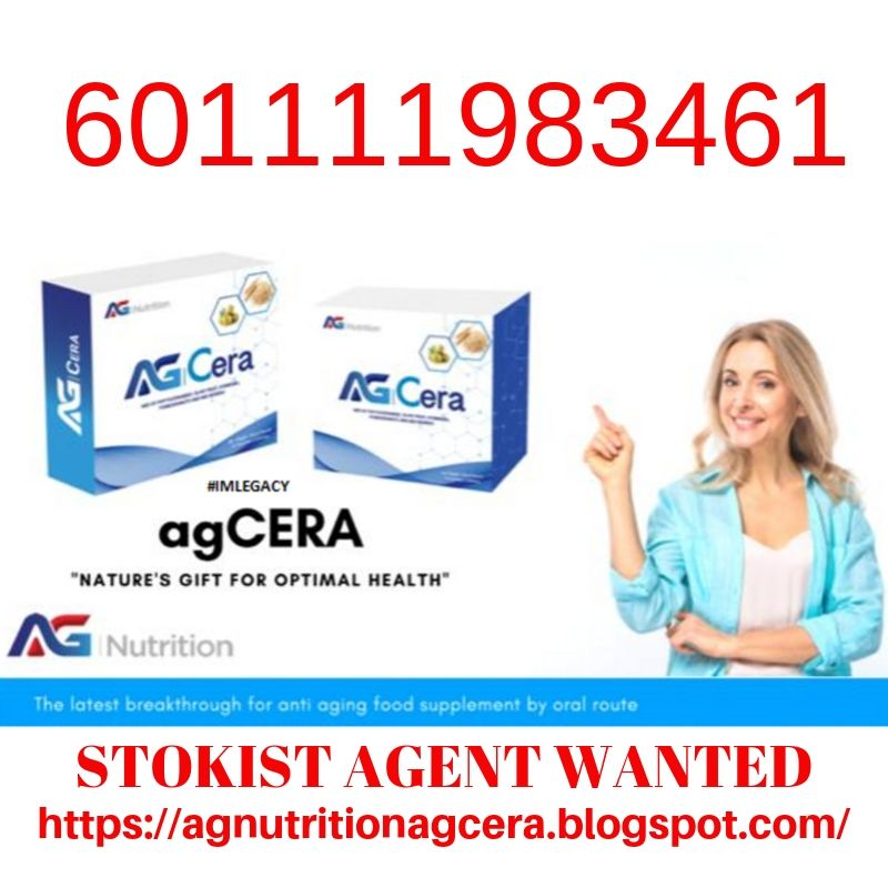 Agent AG Cera Nutrition Marketing Plan 601111983461