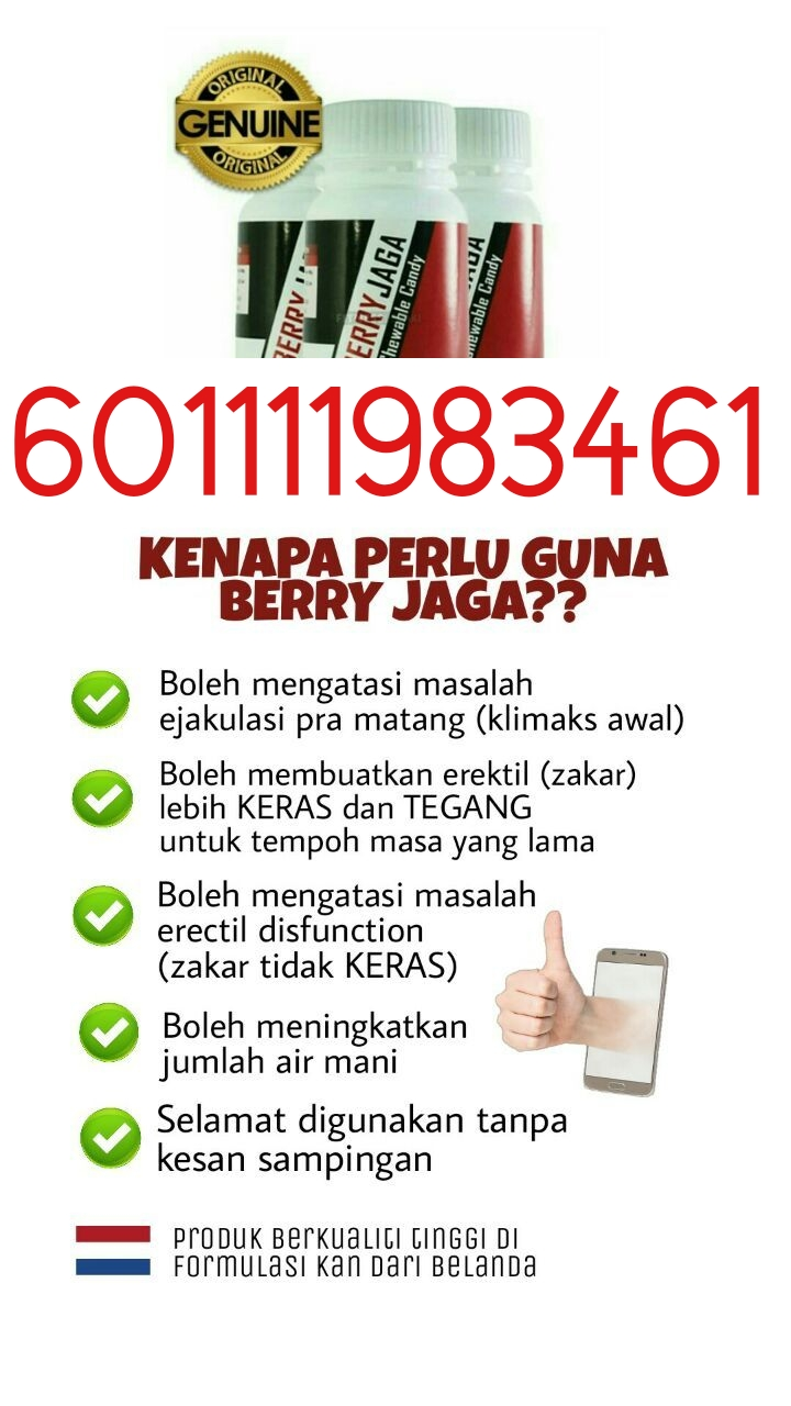 berry jaga chewable candy 601111983461